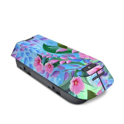 3DR Solo Battery Skin - Lavender Flowers