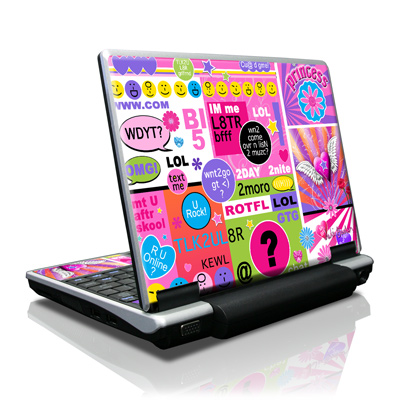 Toshiba NB100 Skin - BFF Girl Talk