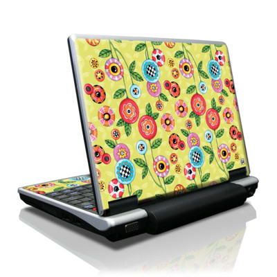 Toshiba NB100 Skin - Button Flowers