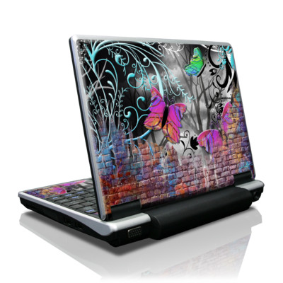 Toshiba NB100 Skin - Butterfly Wall