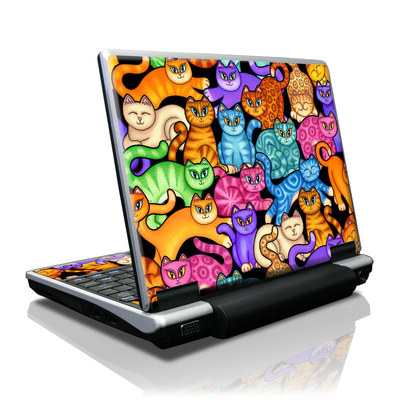 Toshiba NB100 Skin - Colorful Kittens