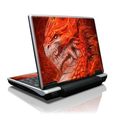 Toshiba NB100 Skin - Flame Dragon