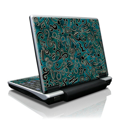 Toshiba NB100 Skin - Music Notes