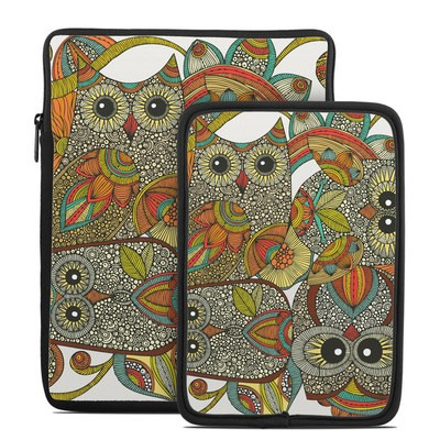 Tablet Sleeve - 4 owls