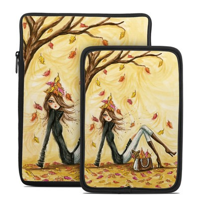 Tablet Sleeve - Autumn Leaves