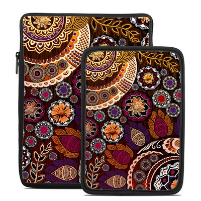 Tablet Sleeve - Autumn Mehndi
