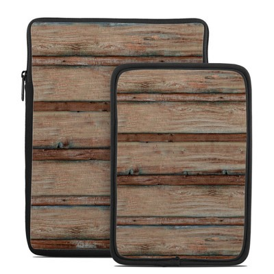 Tablet Sleeve - Boardwalk Wood