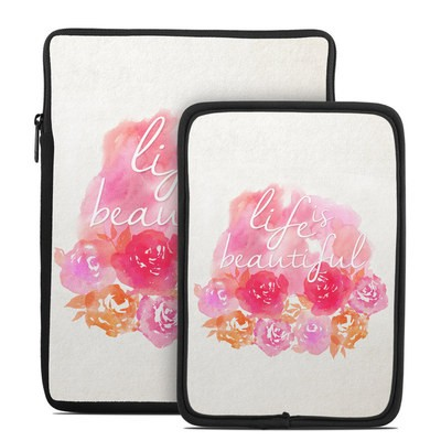 Tablet Sleeve - Beautiful