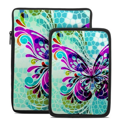 Tablet Sleeve - Butterfly Glass