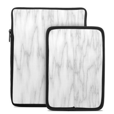 Tablet Sleeve - Bianco Marble
