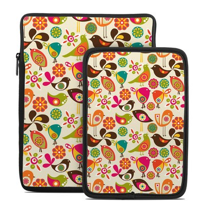 Tablet Sleeve - Bird Flowers
