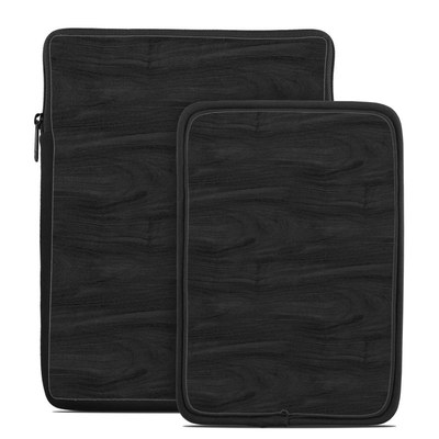 Tablet Sleeve - Black Woodgrain