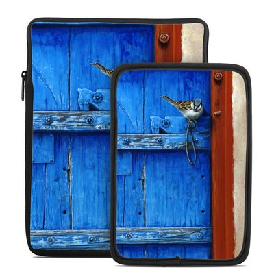 Tablet Sleeve - Blue Door
