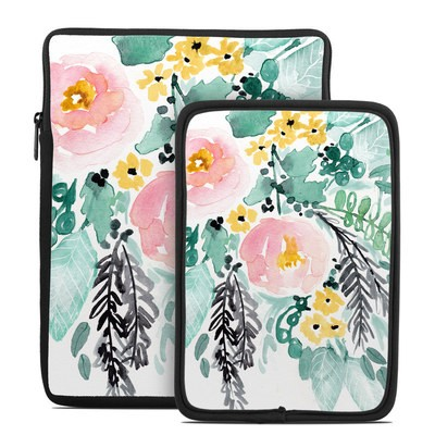 Tablet Sleeve - Blushed Flowers