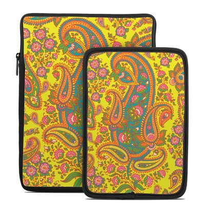Tablet Sleeve - Bombay Chartreuse