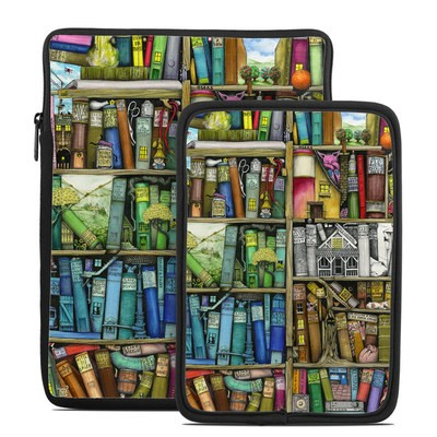 Tablet Sleeve - Bookshelf