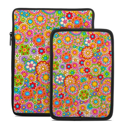 Tablet Sleeve - Bright Ditzy