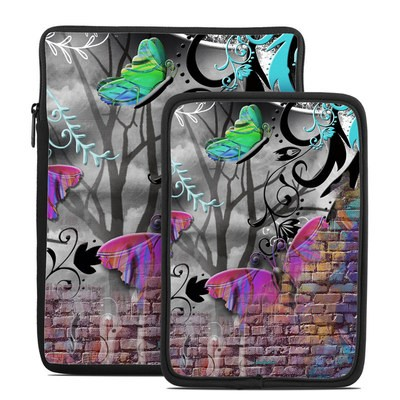 Tablet Sleeve - Butterfly Wall