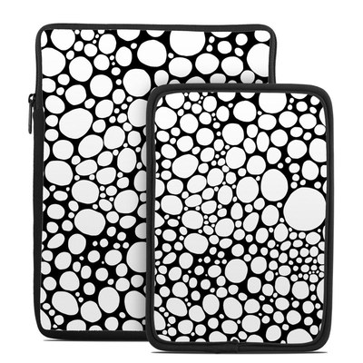 Tablet Sleeve - BW Bubbles