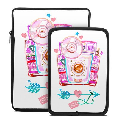 Tablet Sleeve - Camera Shine