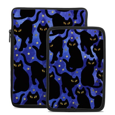 Tablet Sleeve - Cat Silhouettes