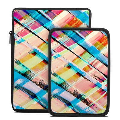 Tablet Sleeve - Check Stripe