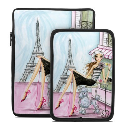 Tablet Sleeve - Cafe Paris
