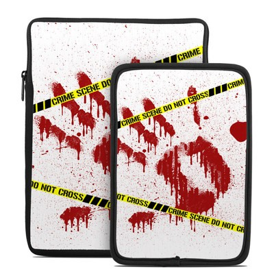 Tablet Sleeve - Crime Scene Revisited