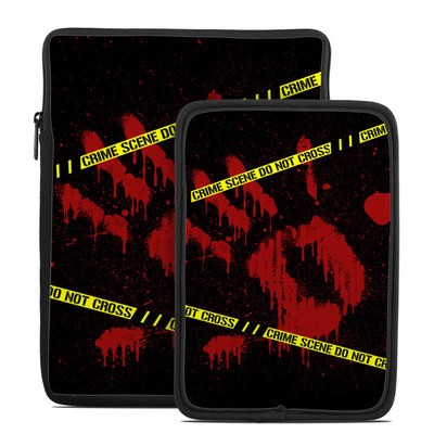 Tablet Sleeve - Crime Scene