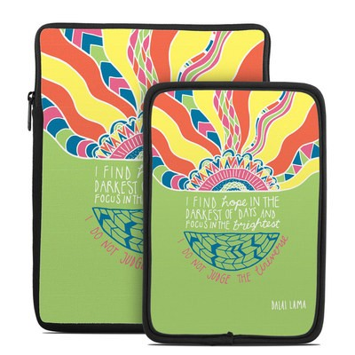 Tablet Sleeve - Dalai Lama