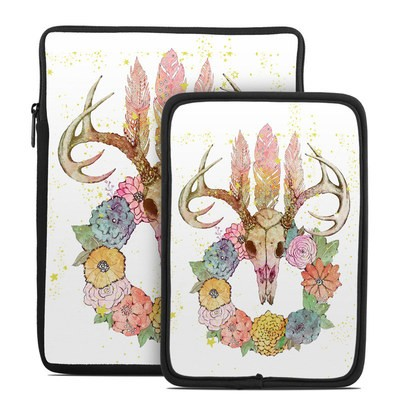 Tablet Sleeve - Deer Skull