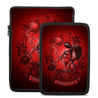 Tablet Sleeve - Demon Drink