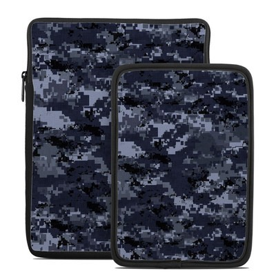 Tablet Sleeve - Digital Navy Camo