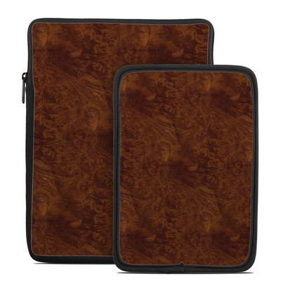 Tablet Sleeve - Dark Burlwood