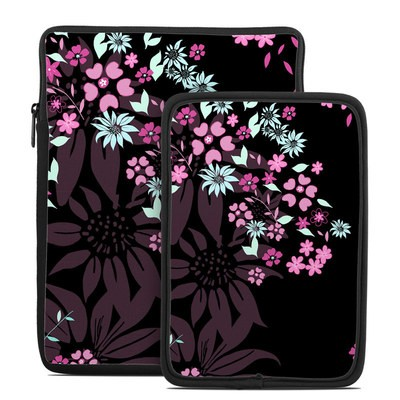 Tablet Sleeve - Dark Flowers