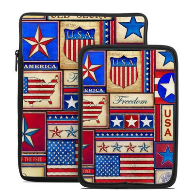 Tablet Sleeve - Flag Patchwork
