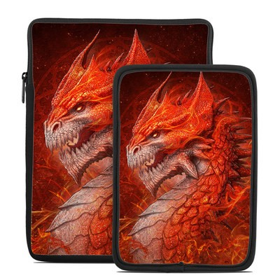 Tablet Sleeve - Flame Dragon