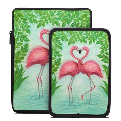 Tablet Sleeve - Flamingo Love