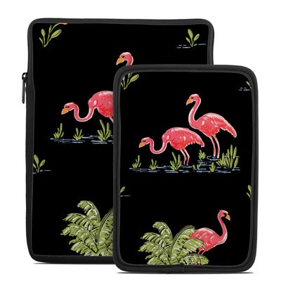 Tablet Sleeve - Flamingos