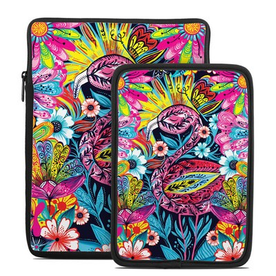 Tablet Sleeve - Flashy Flamingo