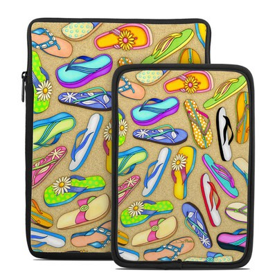 Tablet Sleeve - Flip Flops