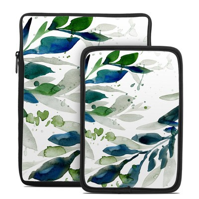 Tablet Sleeve - Floating Leaves