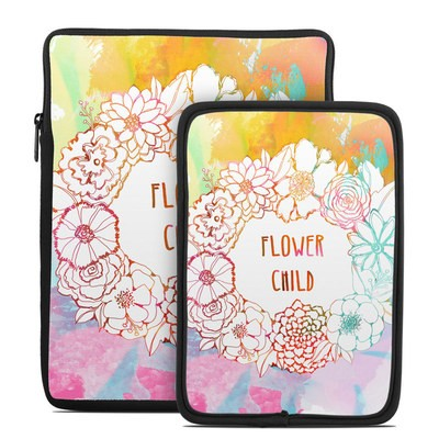 Tablet Sleeve - Flower Child