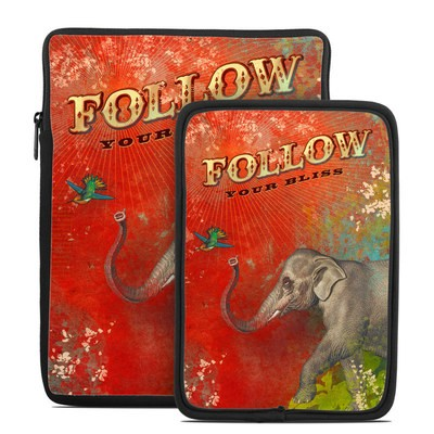 Tablet Sleeve - Follow Your Bliss