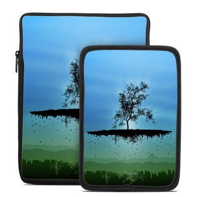 Tablet Sleeve - Flying Tree Blue