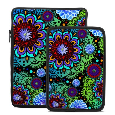 Tablet Sleeve - Funky Floratopia