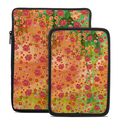 Tablet Sleeve - Garden Flowers