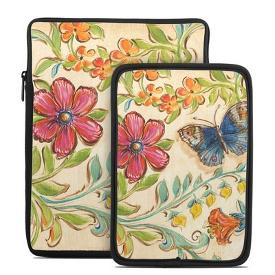 Tablet Sleeve - Garden Scroll