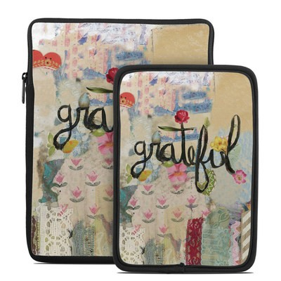 Tablet Sleeve - Grateful