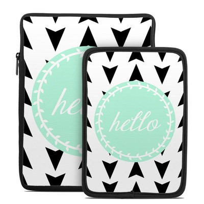 Tablet Sleeve - Greetings